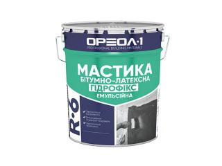 Мастика битумно-латексная «Гидрофикс»  Oreol 1 R-6 10кг/20кг/200кг