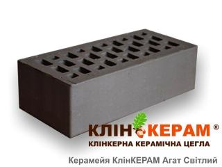 Картинка Кирпич лицевой клинкерный пустотелый КлинКЕРАМ АГАТ Темный М350 производитель Керамейя