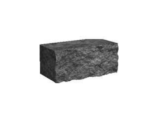 Камень декоративный для клумбы 175х300 Золотой Мандарин