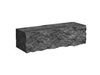 Камень декоративный для клумбы 175х500 Золотой Мандарин