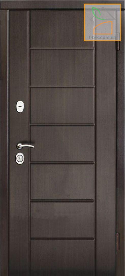 Дверь металлическая входная с МДФ накладками ТРОЯ T-15 Серия Престиж