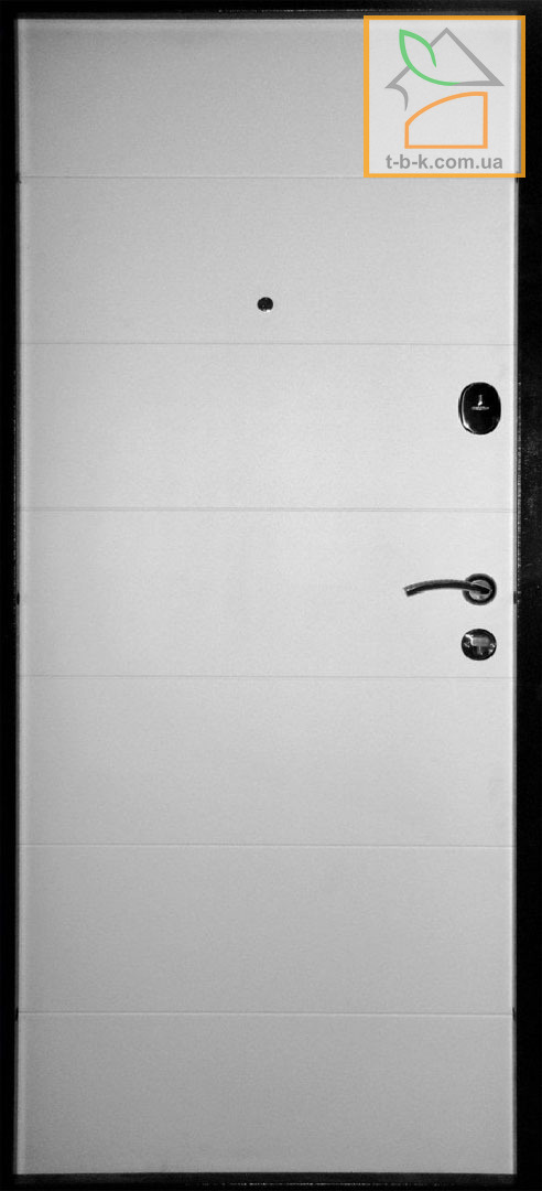 Дверь Троя Т19 обратная сторона белая