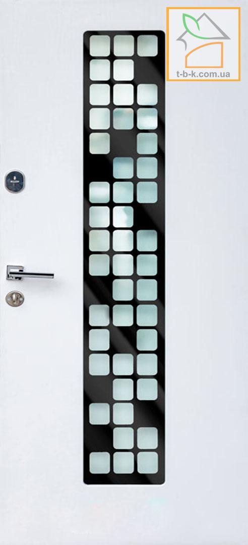 Дверь Троя Т20 обратная сторона белая