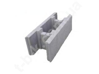 Картинка Блок бетонний незнімної опалубки 500*250*190 виробництво ТБС