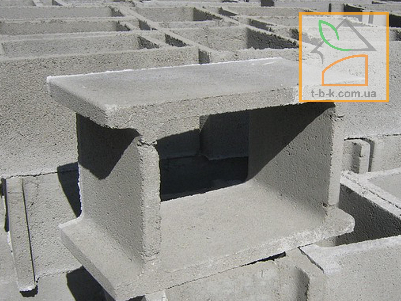 Блок бетонный несъемной опалубки СБ 500*300*250 - Фото 3