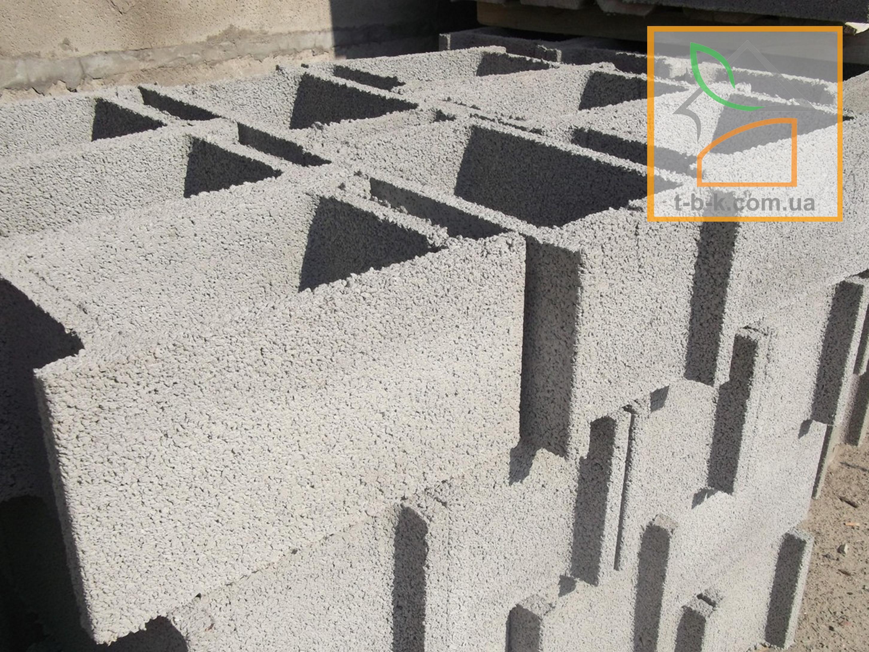 Блок бетонный несъемной опалубки СБ 500*300*250 - Фото 4