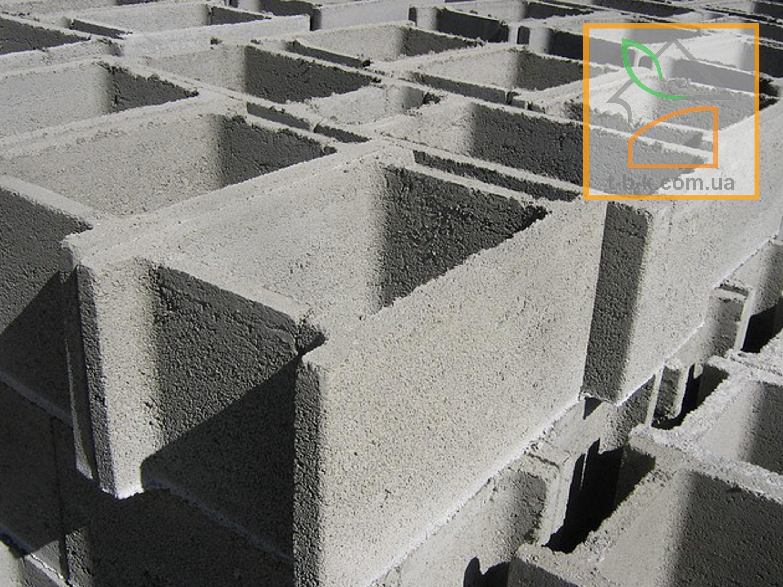 Блок бетонный несъемной опалубки СБ 500*300*250 - Фото 1