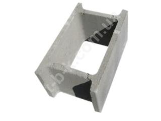 Картинка Блок бетонний незнімної опалубки СБ 500*300*250