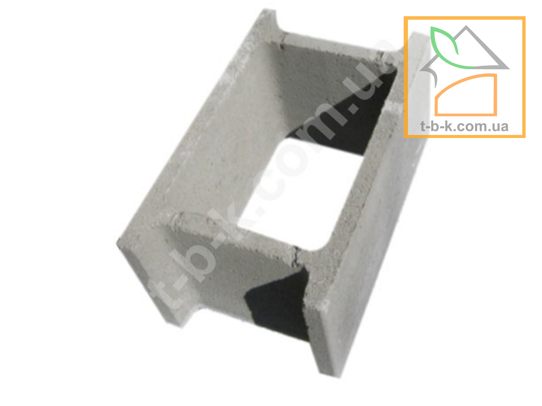 Блок бетонный несъемной опалубки СБ 500*300*250