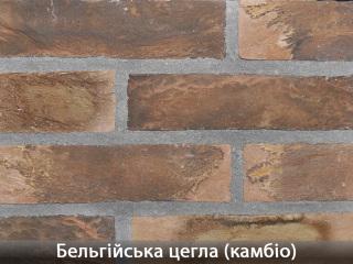 Картинка Облицовочный камень Бельгийский Кирпич Камбио