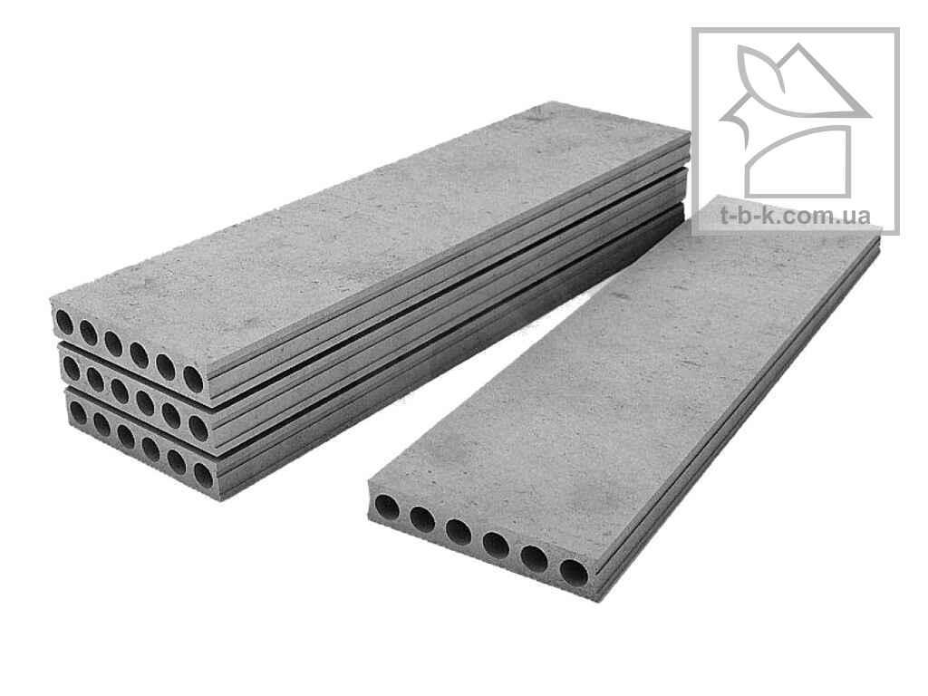 Экструдированная плита перекрытия ПБ 76.11.22-8К7в(П7)П (безопалубочного формирования)